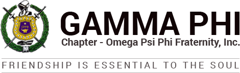Gamma Phi Chapter - Omega Psi Phi Fraternity, Inc.